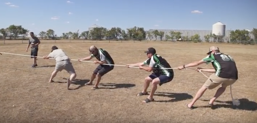 In a Season 2 episode, the OSY Rentals crew competes in the Redneck Games.