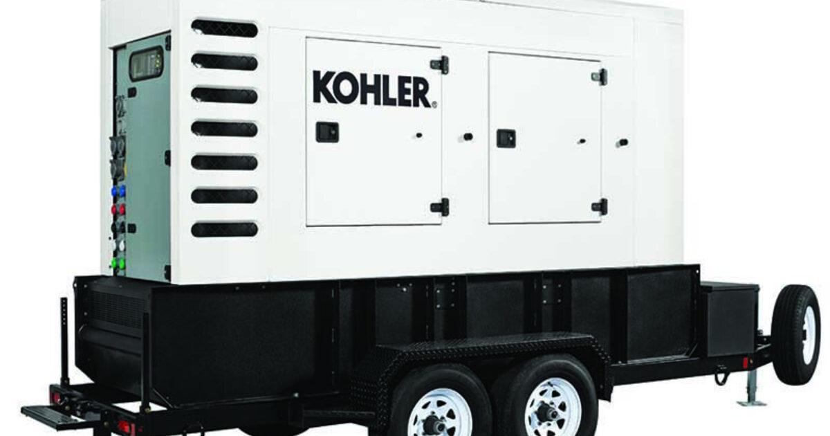 Kohler mobile diesel generators | Dig Different