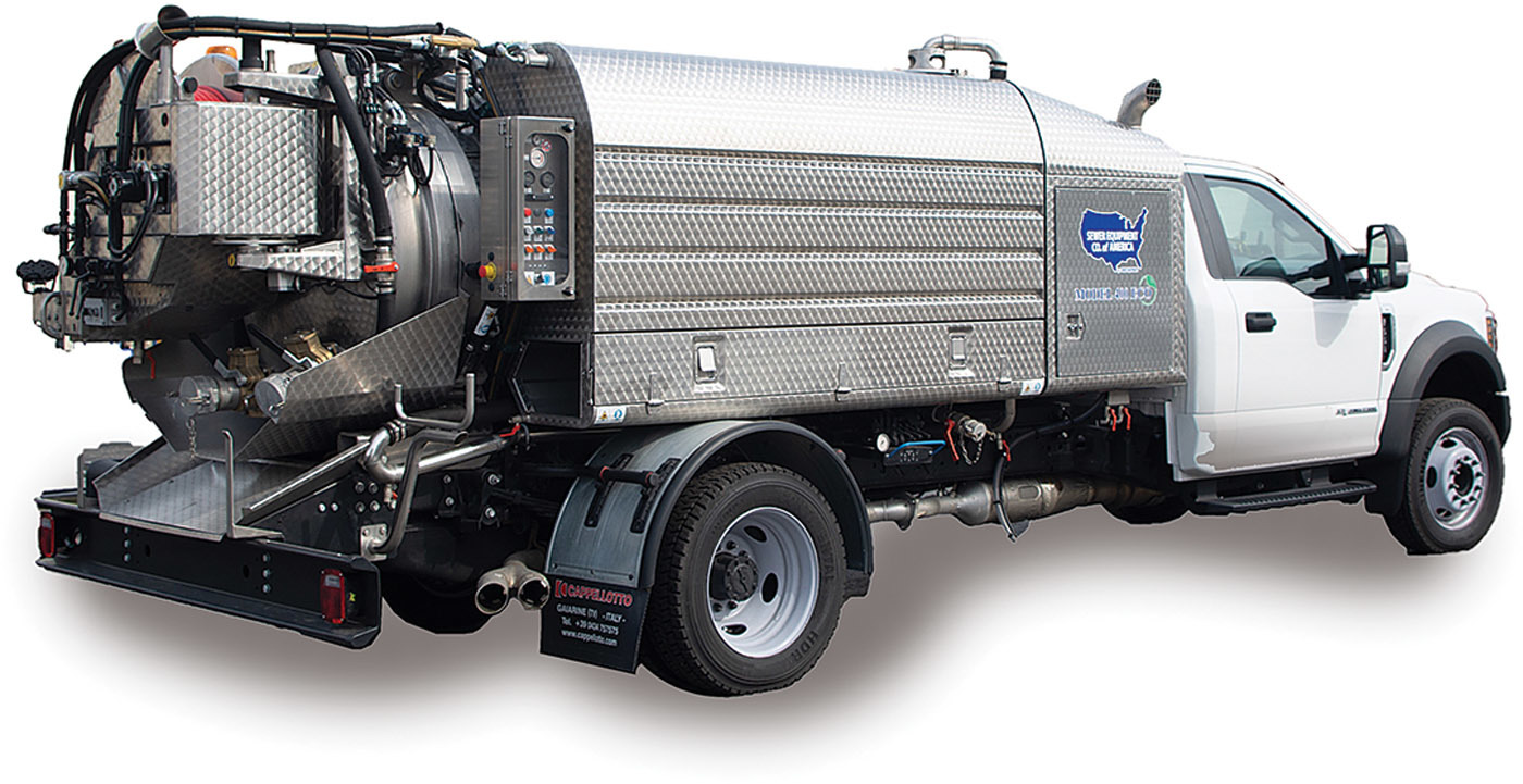 Model 400 ECO from Sewer Equipment